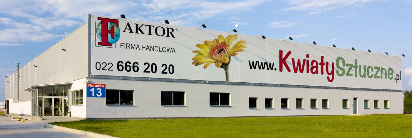 O Firmie Handlowej Faktor Sztuczne Kwiaty I Rosliny